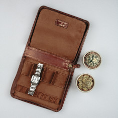 The Atella Italian Leather Watch Case