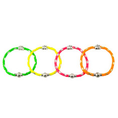 Neon elephant bracelet