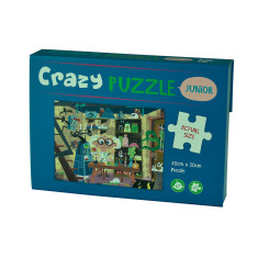 Crazy scientist 100 piece puzzle