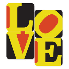 Love Coasters (set of 4)