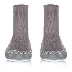 Classic Stone Swedish Moccasin Slippers