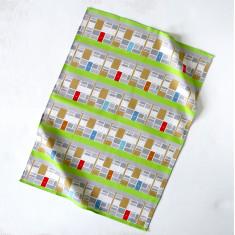 Modern Span Tea Towel