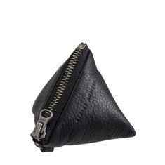 This Could Be leather purse in black