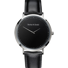 Barbas & Zacari Nightfall Leather Watch - Unisex