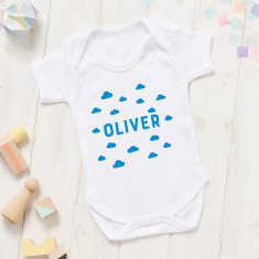 New Baby Scandi Cloud Onesie