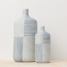 Hampton vases (set of two)