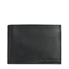 Noah leather wallet in black