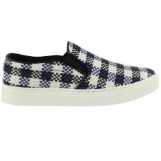 Urbanette range plaid blue womens' shoes