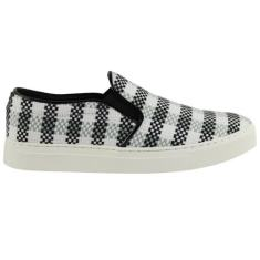 Urbanette range plaid grey & white women's shoes