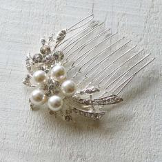 Flower Cascade Hair Comb