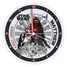 Personalised Star Wars The Force Awakens Clock