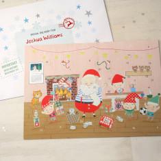 Grotto Advent Calendar And Envelope