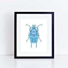 Bling bug III fine art giclee print