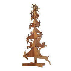 Bamboo flat pack Christmas tree