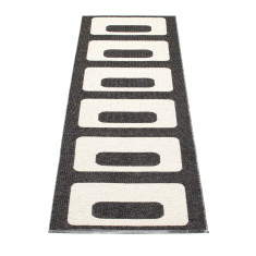 Owen Rug Black - Made in Sweden