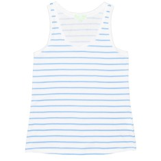 Blue zebra women's tank