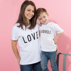 Personalised Mother And Child T-Shirt Set