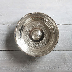 Nickel plated hamam bowl (3 sizes)