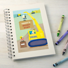 Personalised Boy's Notebook