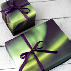 Northern Lights Gift Wrap Set