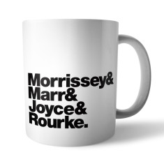 The Smiths Rock Band mug