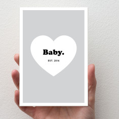New Baby Card (3 colour options)