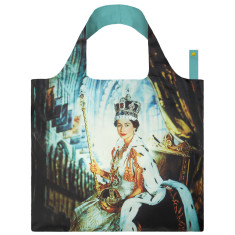 LOQI reusable bag in museum collection in queen elizabeth II