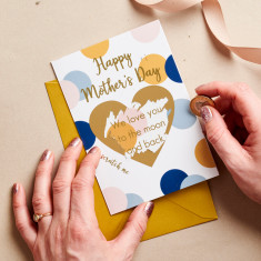 Personalised Mother's Day Scratch Card