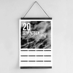 Wall Calendar 2017 - Water Abstract Design