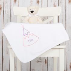 Personalised Teepee Baby Blanket