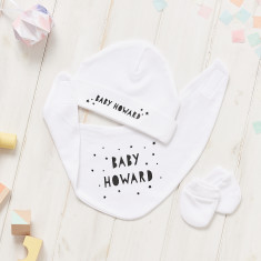 Personalise Baby Shower Small Gift Set