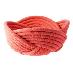 Weave bowl in terracotta