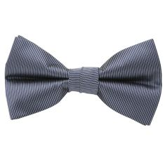 Pinstripe bow tie (various colours)