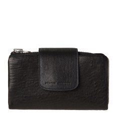 The Fallen leather wallet in black