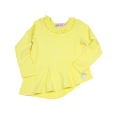 Girls' Lemon top