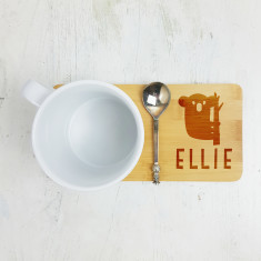 Personalised Koala Bear Mug Coaster