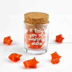 Personalised Jar of Little Stars