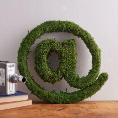Moss @ at sign