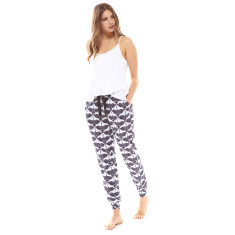 Flock Pj Pant Black & White
