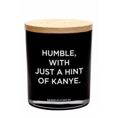 Humble, With A Hint Of Kayne Candle