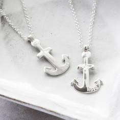 Silver Maxi Anchor Pendant