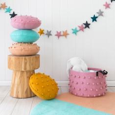 Pods mini felt cushion (various colours)