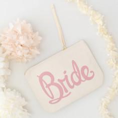 Bride Canvas Pouch