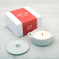 Food Scented Candle In A Casserole Dish
