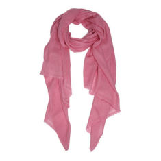 Moye cashmere stole in dusty rose