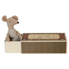 Little Brother Mice in Matchbox Bed
