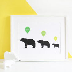 Welcome to our home A3 print