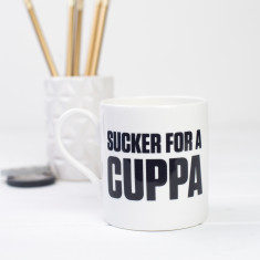 Sucker for a cuppa mug
