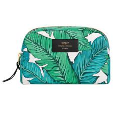 Wouf big beauty bag in tropical print