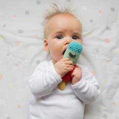 Icky Icypole Weegoamigo Crochet Rattle